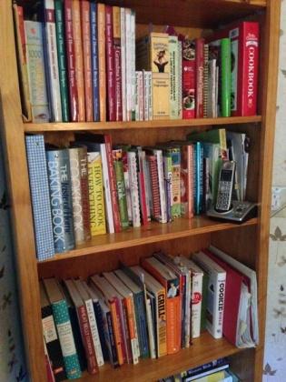 neat shelves