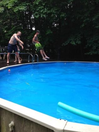 Corey tosses Liam