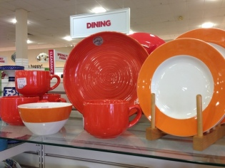 orange dishes
