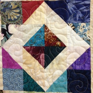 block from quilt