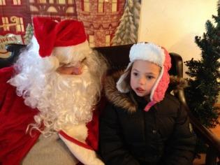 Natasha and Santa