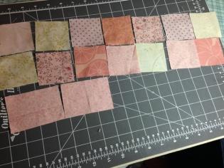 pink sashing squares