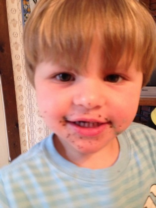 Andrew after cupcake