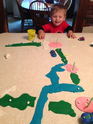 play doh golf course