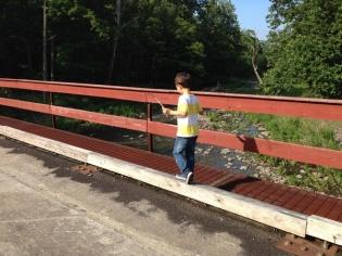 Desi bridgewalking