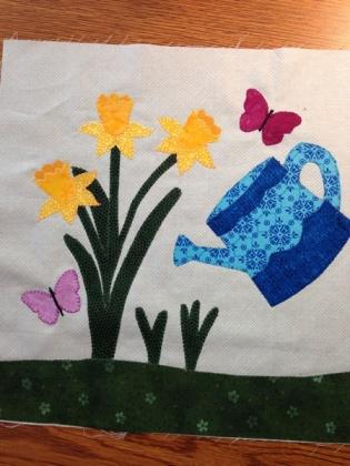 daffodil block