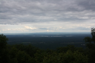 view from Mountain House site