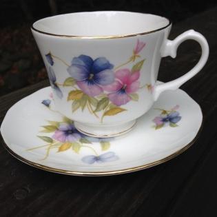 new tea cup