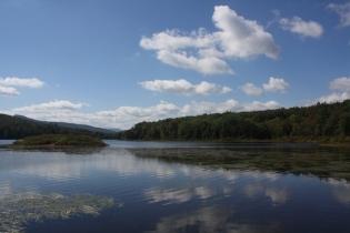 view toward South Lake