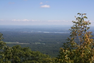 view from Mtn. House site