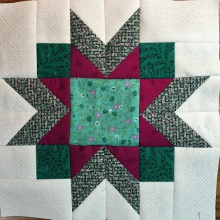 winter star block