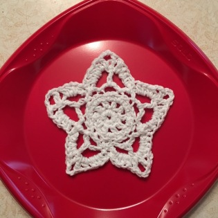 crocheted star