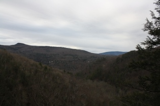 from Kaaterskill Falls viewing platform