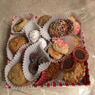 opened cookie basket