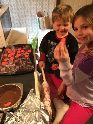 making mint candies