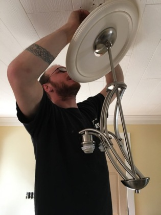hanging a lamp