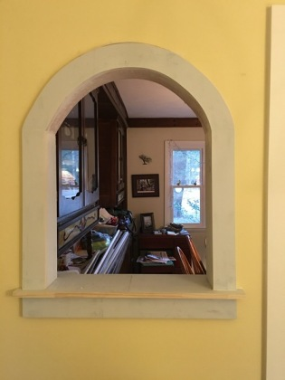 archway in progress