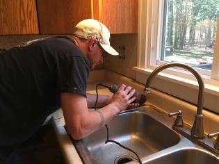 Backsplash cutting