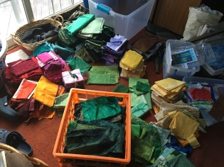 Fabric selection mess