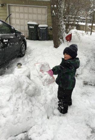 Andrew shovels