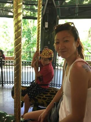 On the bug carousel