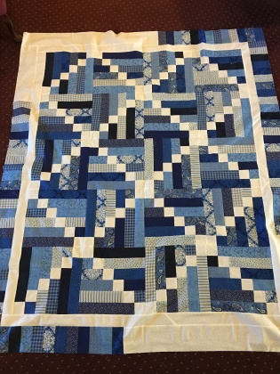 Baby quilt finished