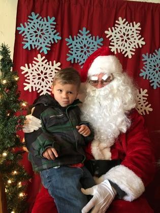 Andrew and Santa