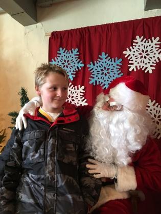 Timothy and Santa
