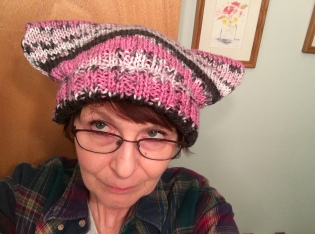 Finished pussy hat